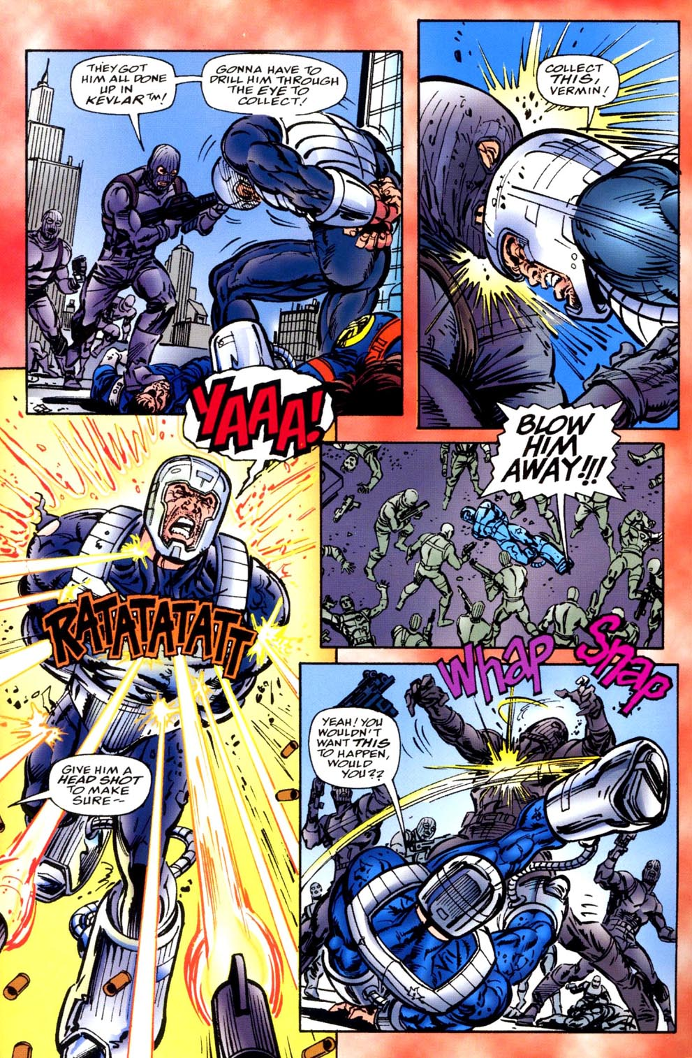 Read online Double Edge comic -  Issue # Issue Alpha - 6