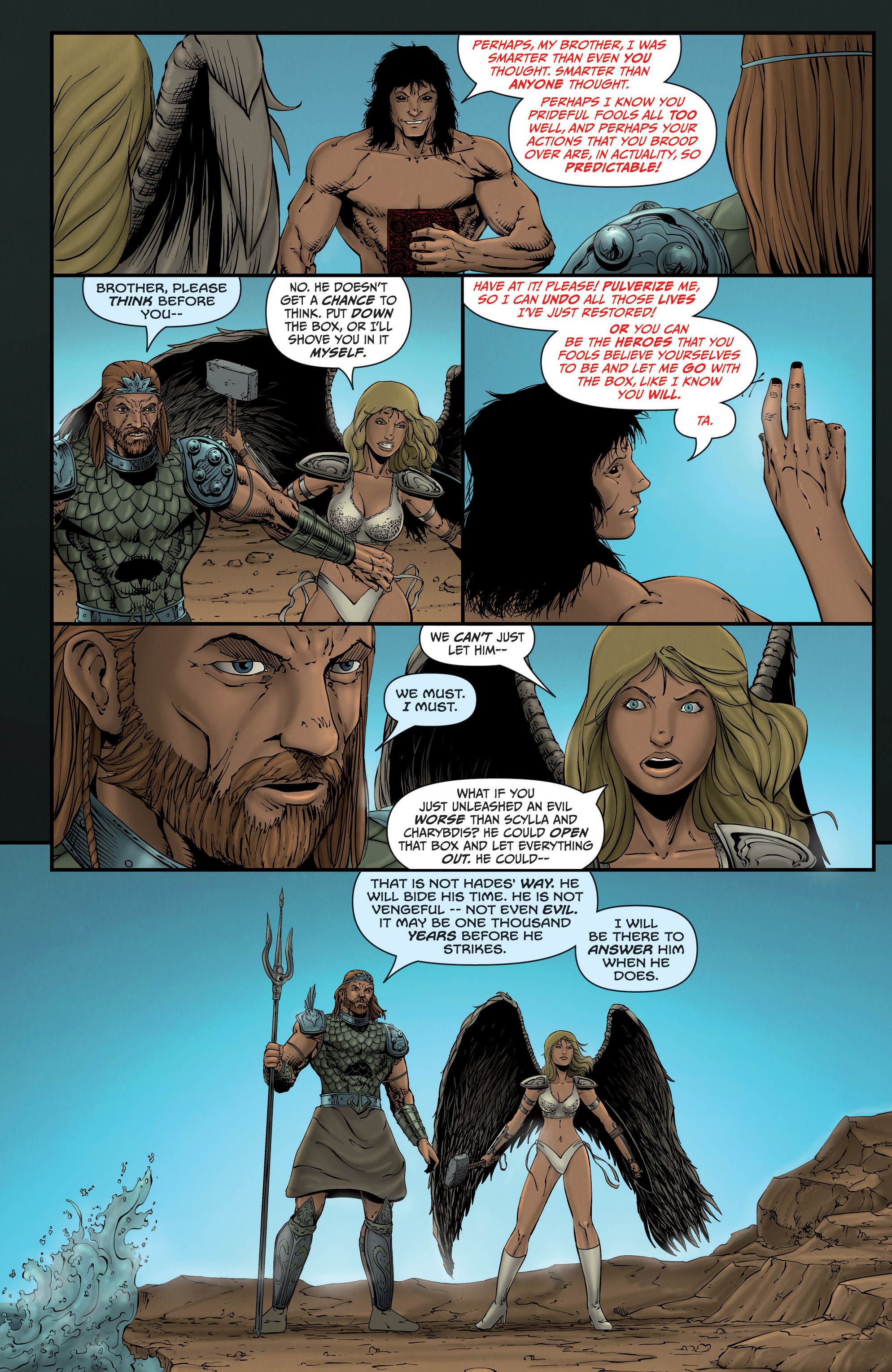 Read online Grimm Fairy Tales presents Grimm Universe comic -  Issue # TPB - 67