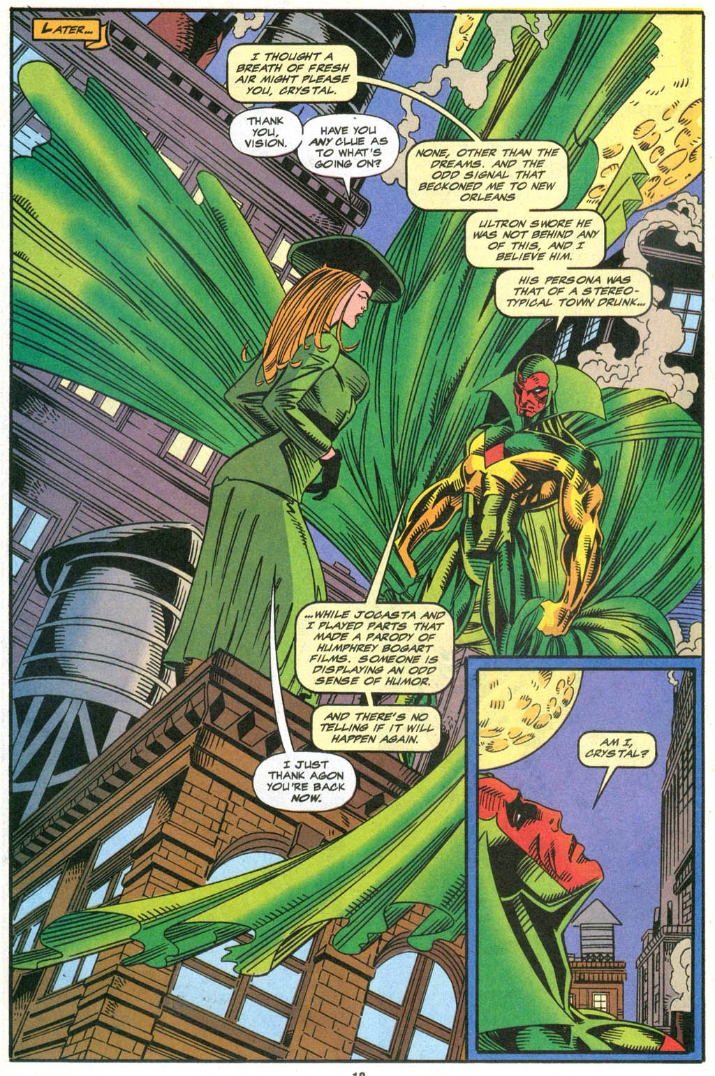 Read online The Vision comic -  Issue #2 - 15