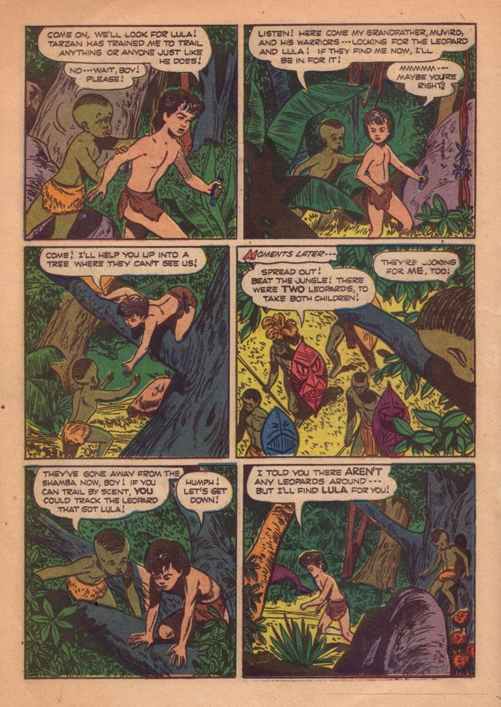 Tarzan (1948) issue 55 - Page 22