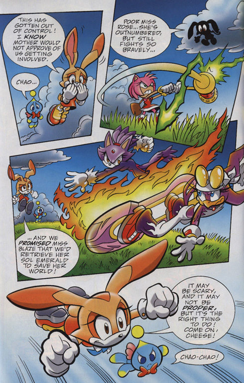 Read online Sonic Universe comic -  Issue #24 - 5