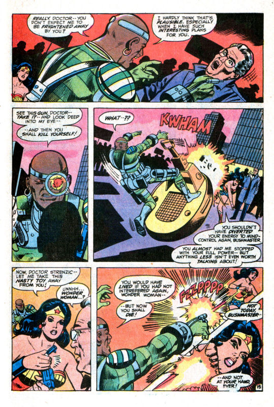 Read online Wonder Woman (1942) comic -  Issue #255 - 24