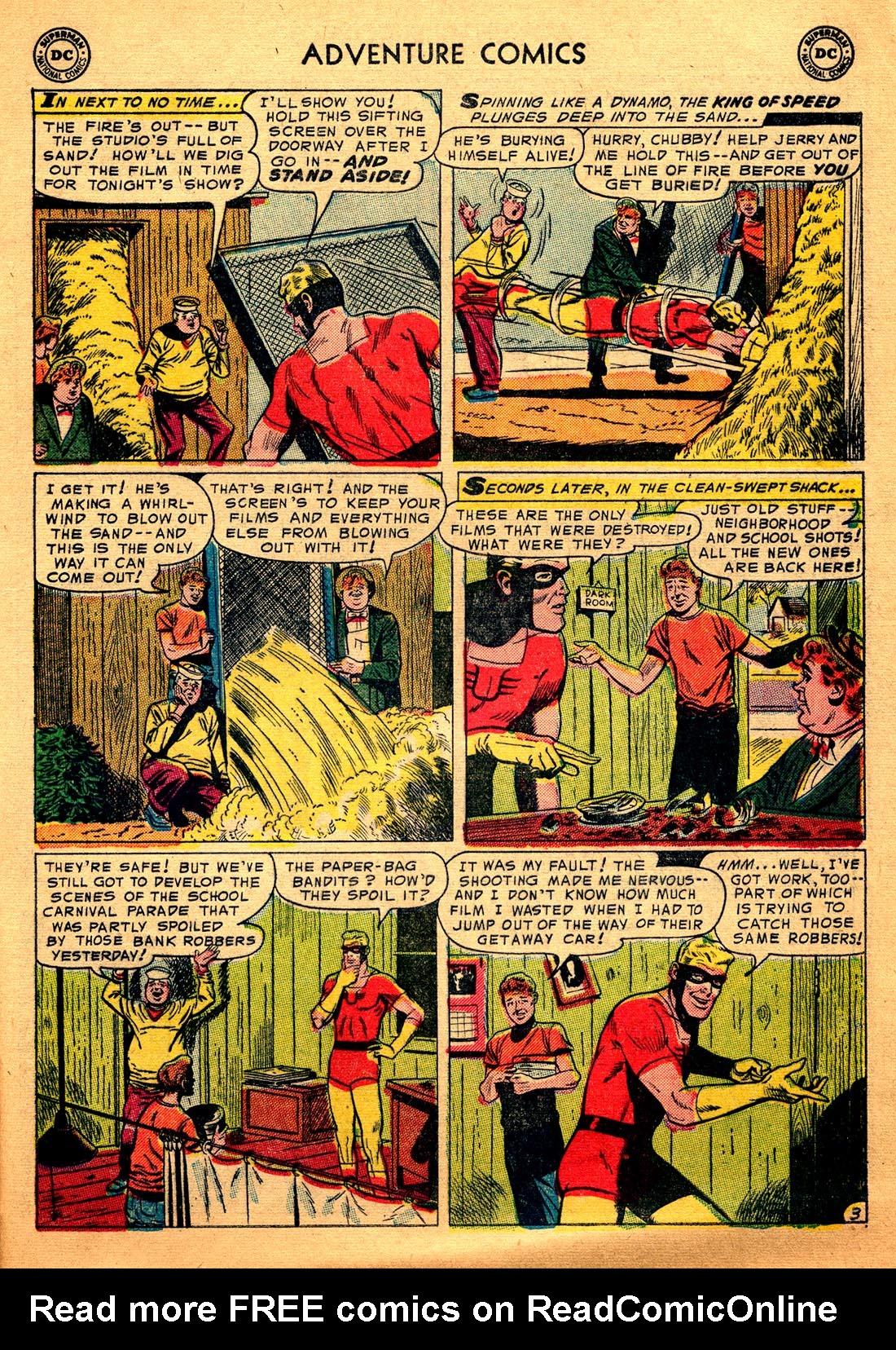 Read online Adventure Comics (1938) comic -  Issue #206 - 29