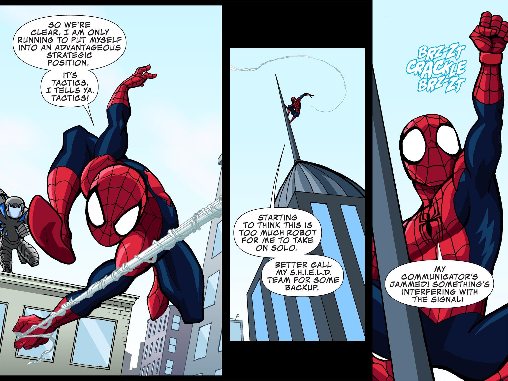 Read online Ultimate Spider-Man (Infinite Comics) (2015) comic -  Issue #3 - 20