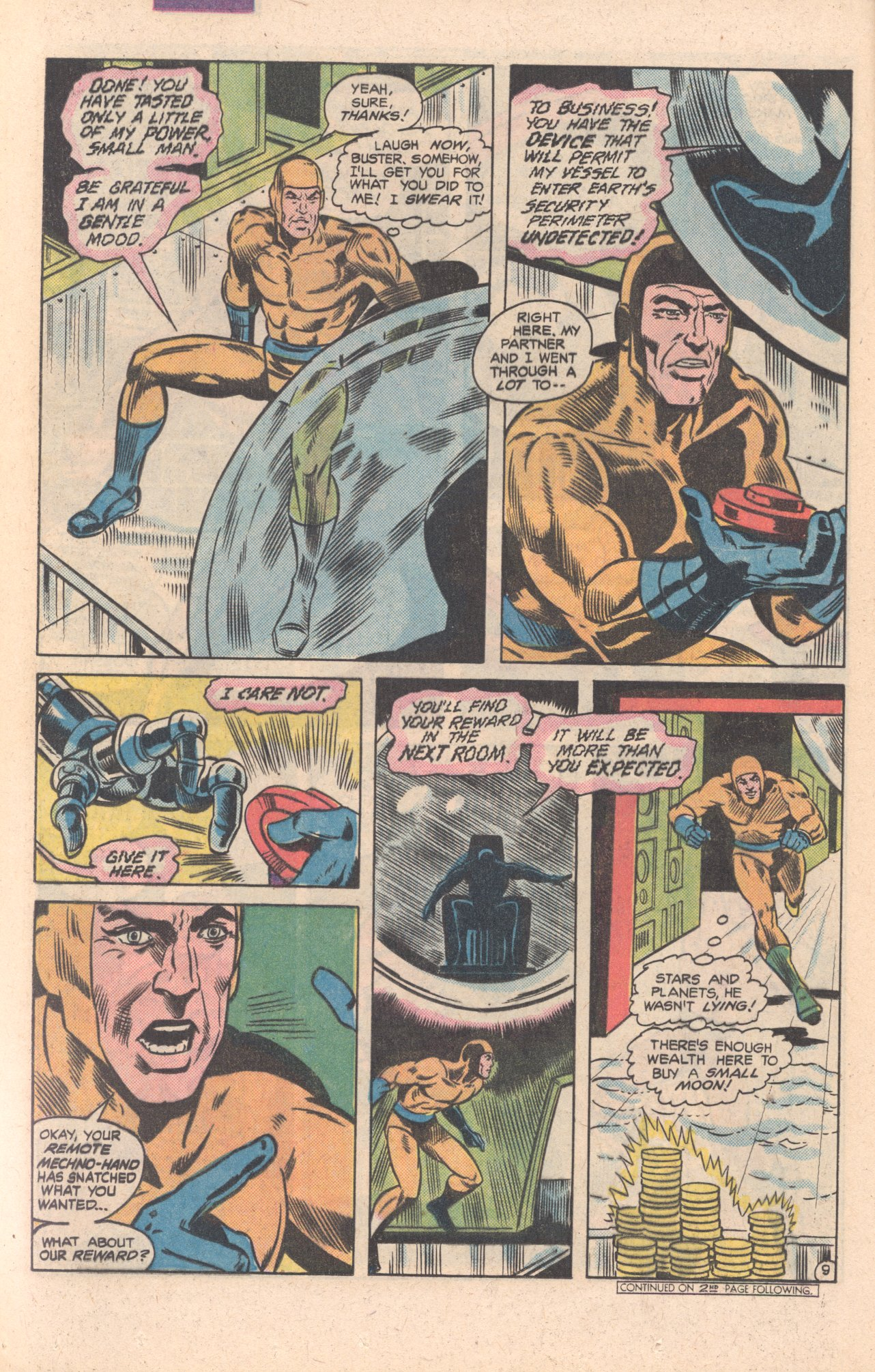 Legion of Super-Heroes (1980) 269 Page 10