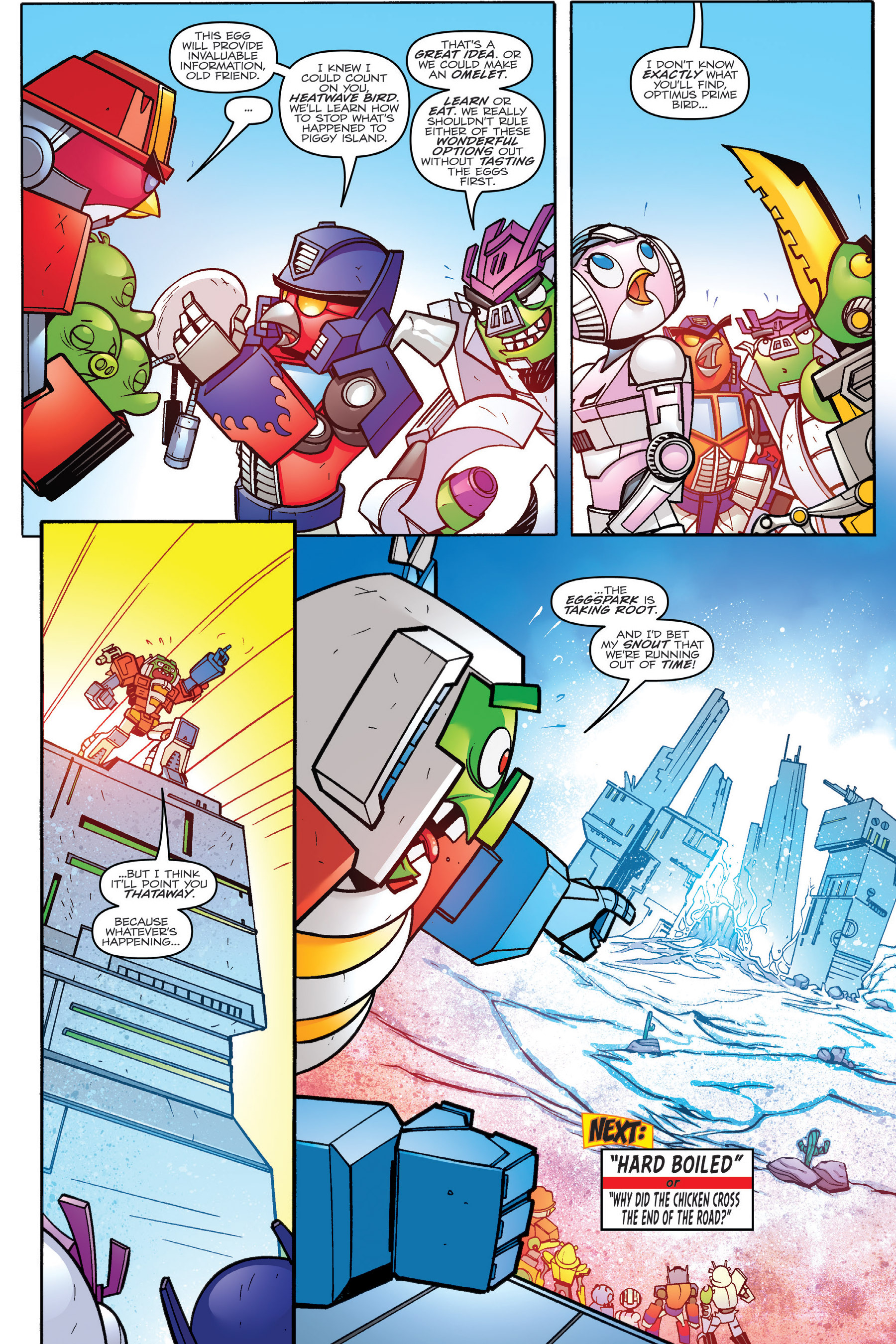 Read online Angry Birds Transformers: Age of Eggstinction comic -  Issue # Full - 68