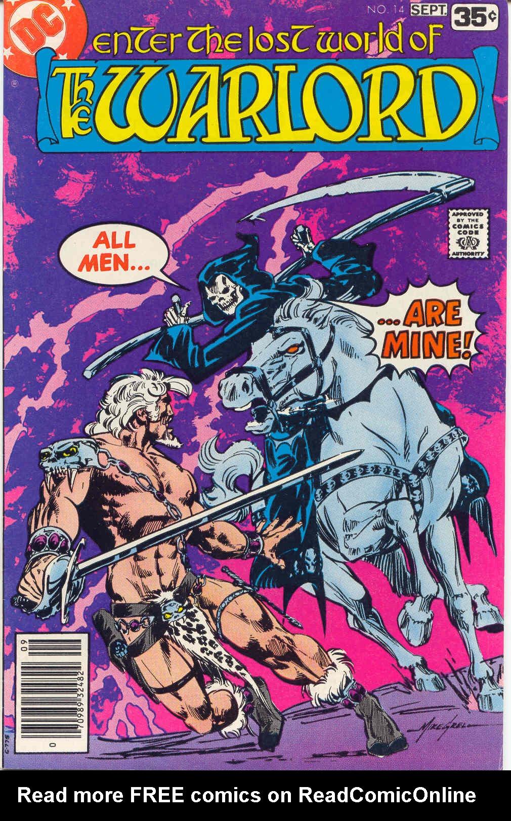 Warlord (1976) 14 Page 1