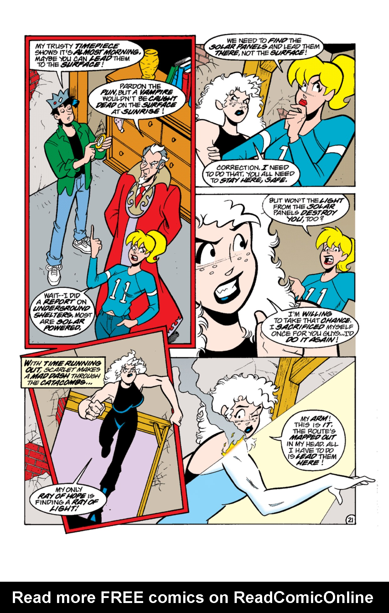 Read online Archie's Weird Mysteries comic -  Issue #12 - 23
