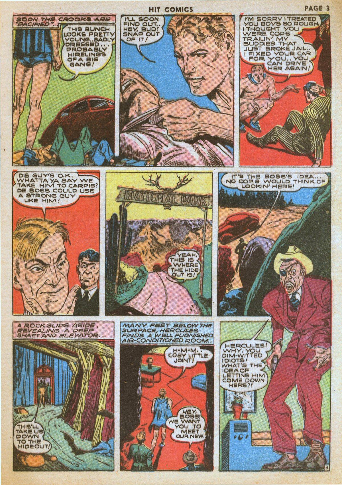 Read online Hit Comics comic -  Issue #12 - 5