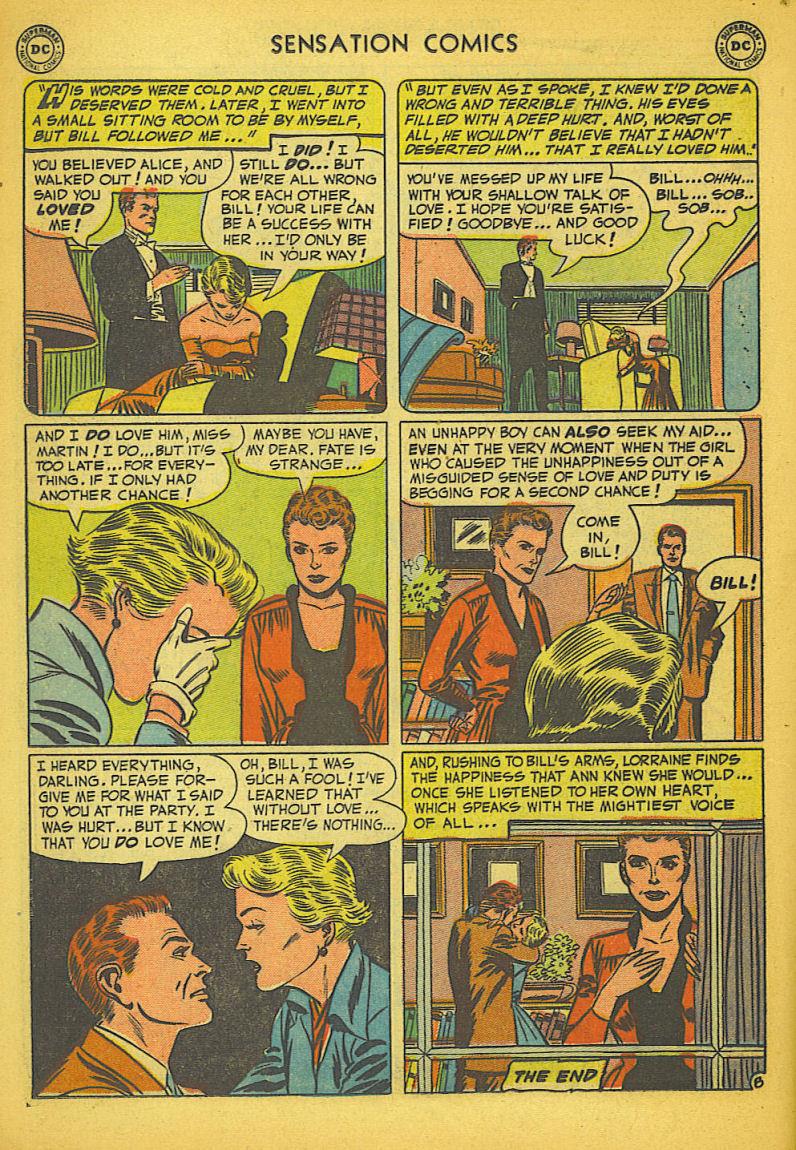 Read online Sensation (Mystery) Comics comic -  Issue #104 - 24
