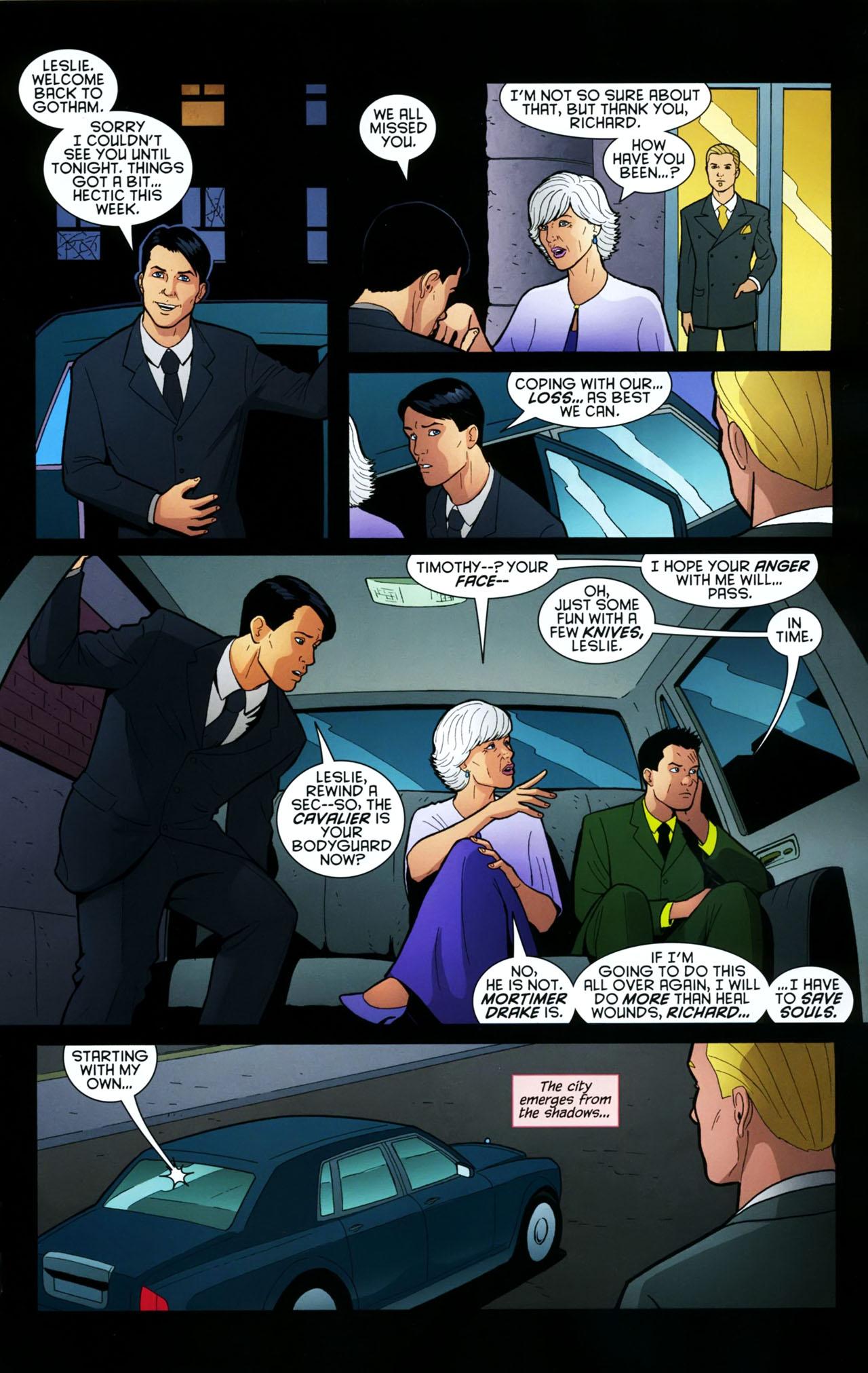 Read online Gotham Gazette comic -  Issue # Issue Batman Alive - 12