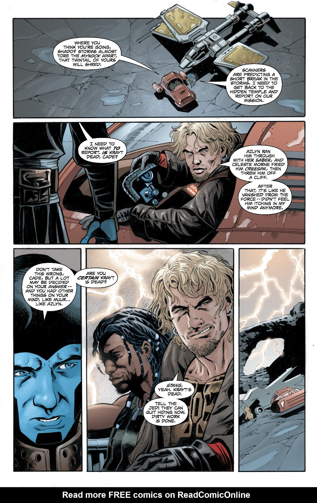 Read online Star Wars Legends: Legacy - Epic Collection comic -  Issue # TPB 2 (Part 4) - 55