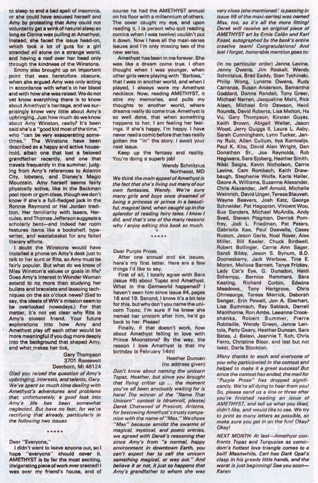 Read online Amethyst (1985) comic -  Issue #10 - 33
