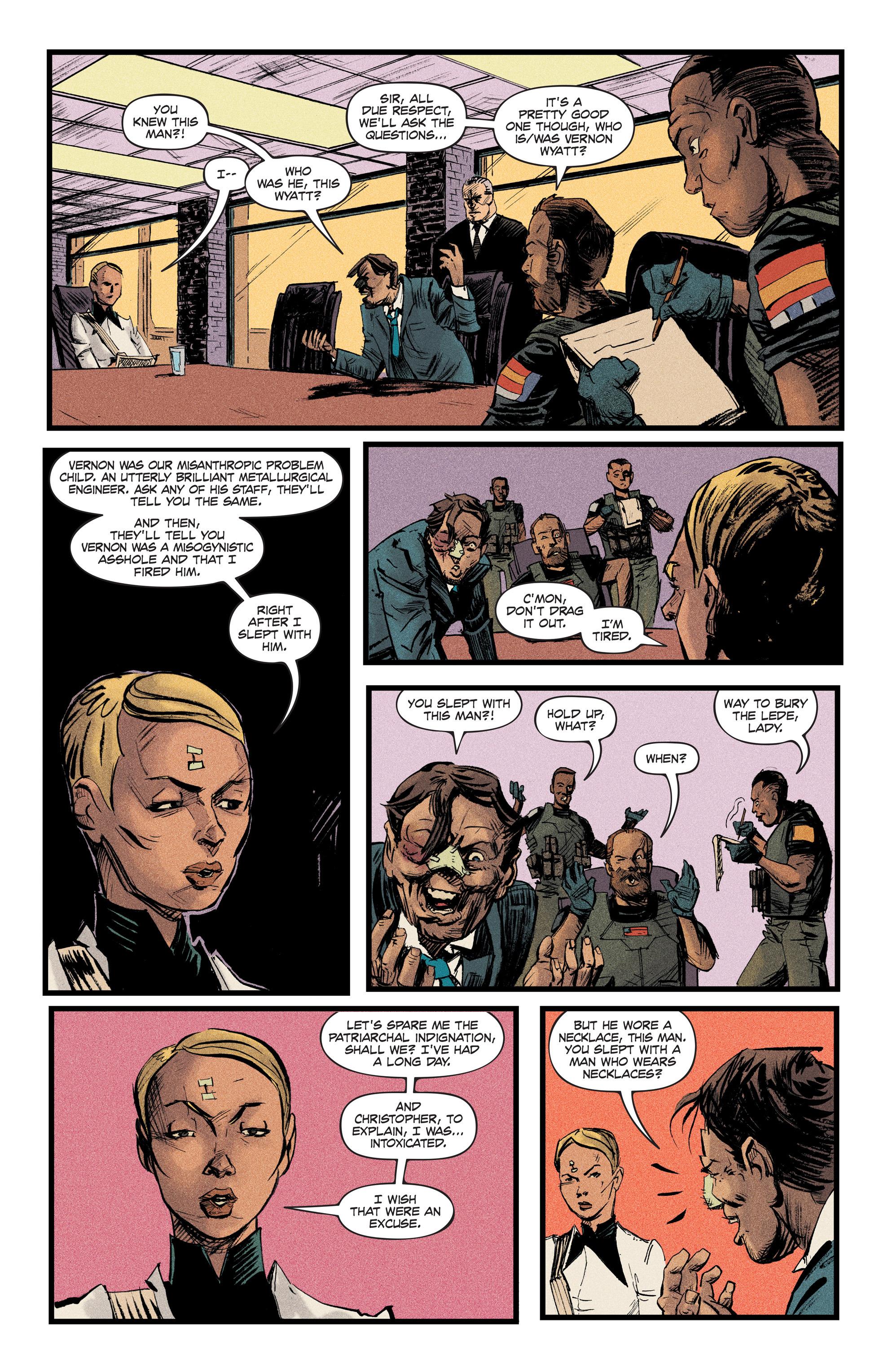 Read online Redline comic -  Issue #2 - 13