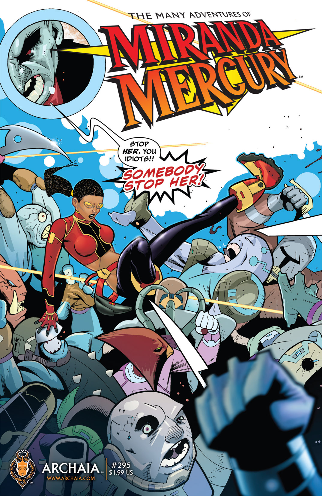 Read online The Many Adventures of Miranda Mercury: Time Runs Out comic -  Issue # TPB - 12