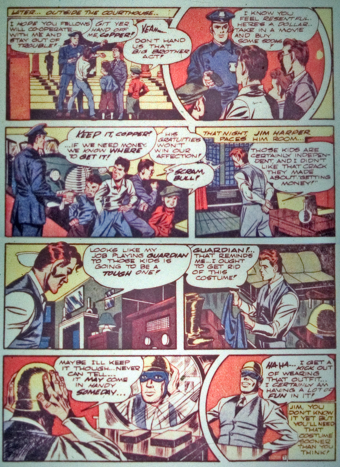 Star Spangled Comics (1941) issue 7 - Page 9