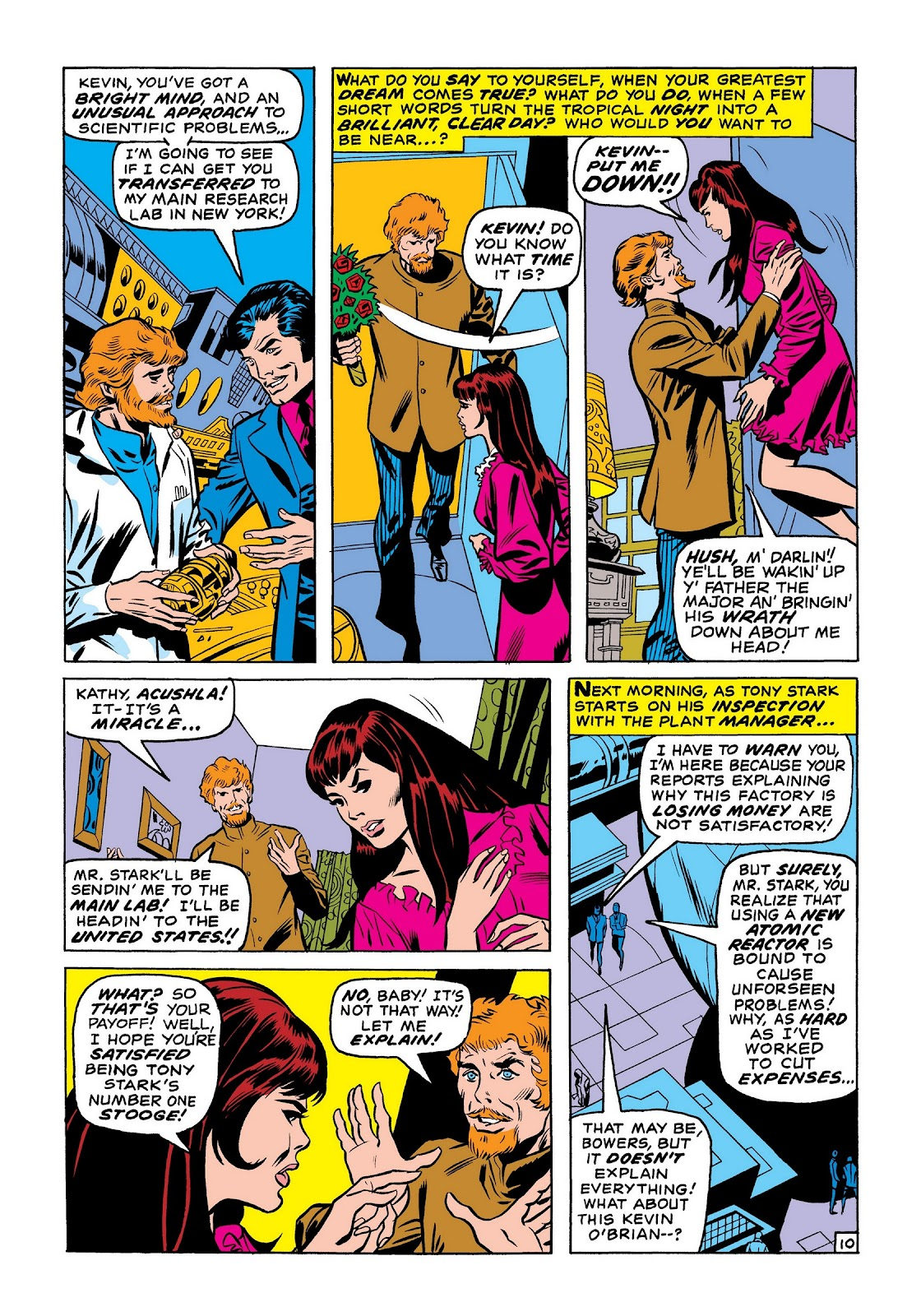 Read online Marvel Masterworks: The Invincible Iron Man comic -  Issue # TPB 7 (Part 2) - 19