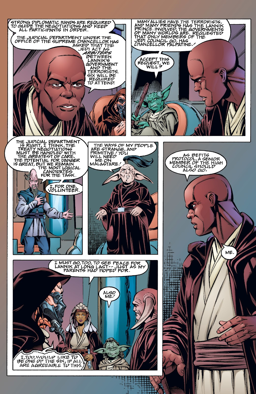 Read online Star Wars Legends Epic Collection: The Menace Revealed comic -  Issue # TPB (Part 3) - 64