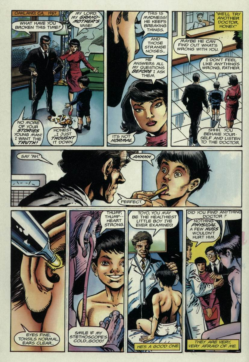 Read online Harbinger Files comic -  Issue #1 - 9