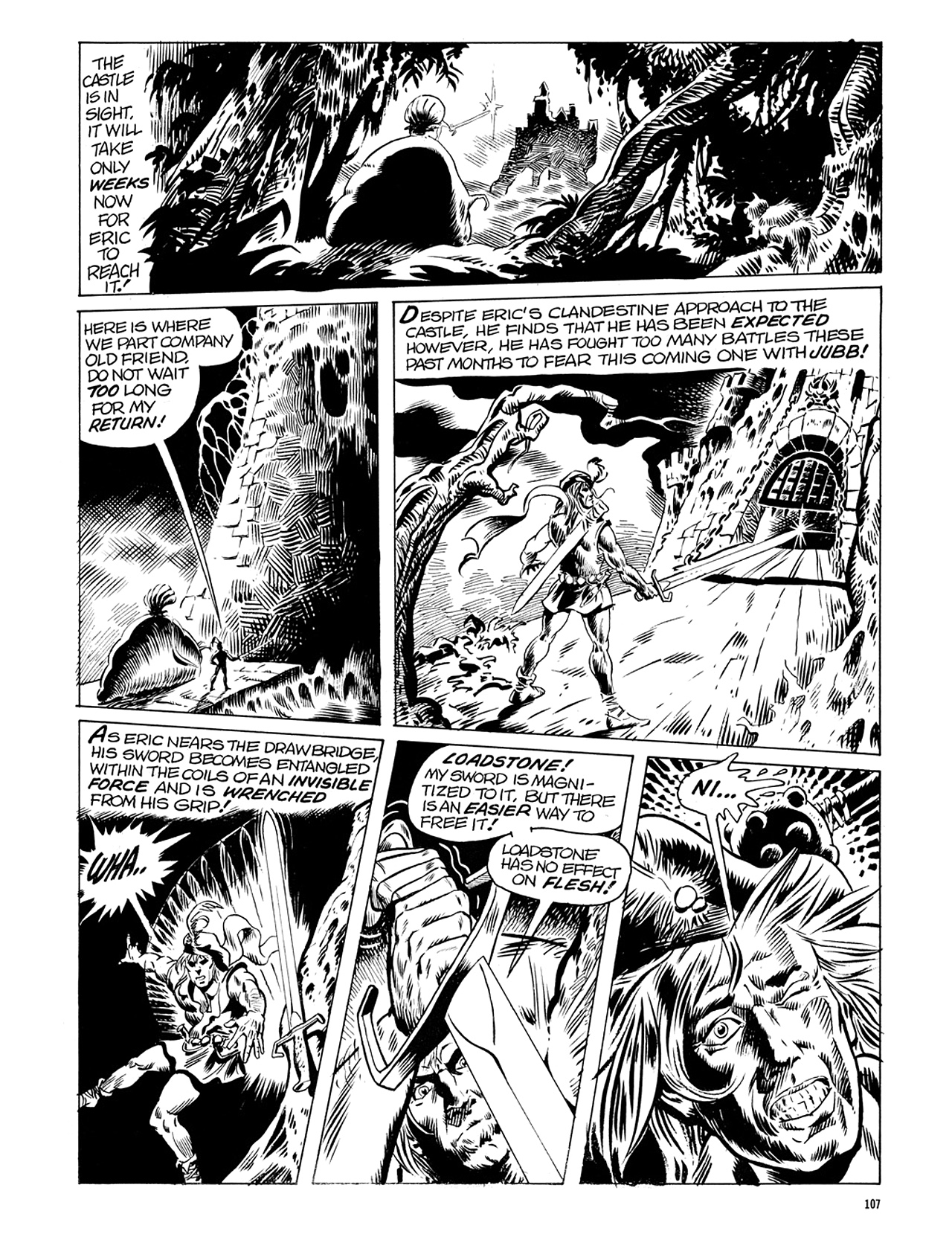 Read online Eerie Archives comic -  Issue # TPB 6 - 107