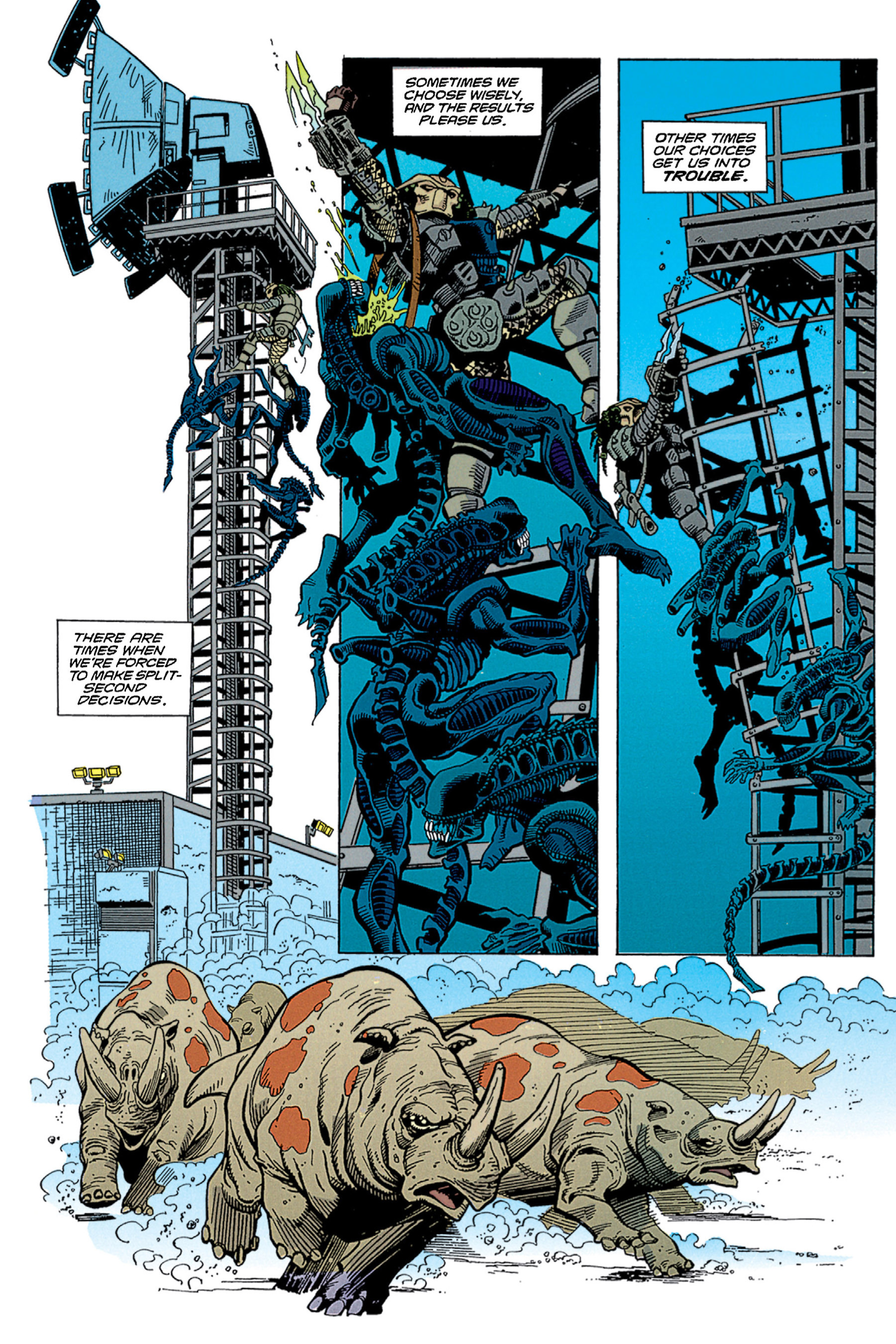 Read online Aliens vs. Predator Omnibus comic -  Issue # _TPB 1 Part 2 - 16