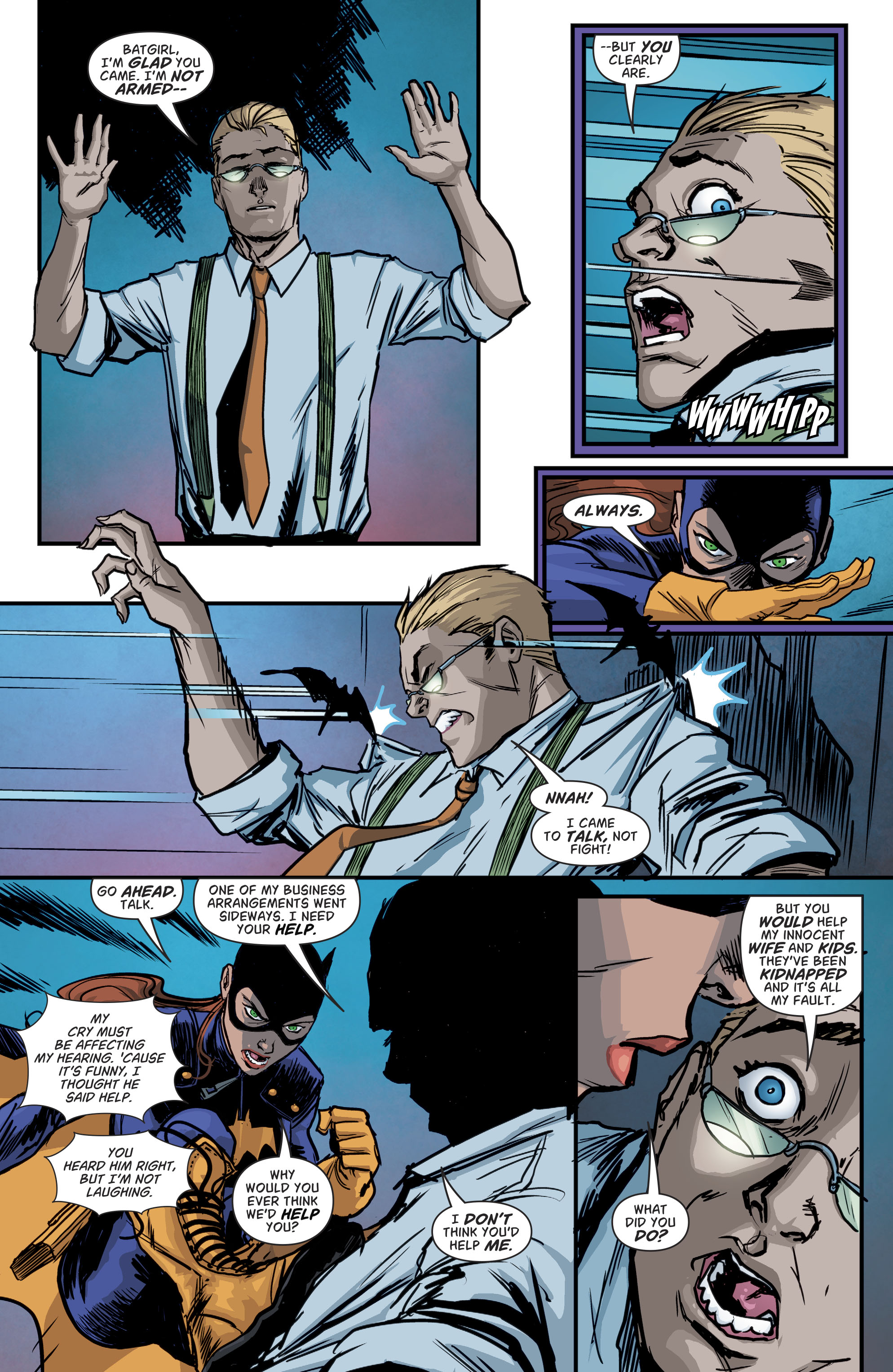 Read online Batgirl and the Birds of Prey comic -  Issue #11 - 18