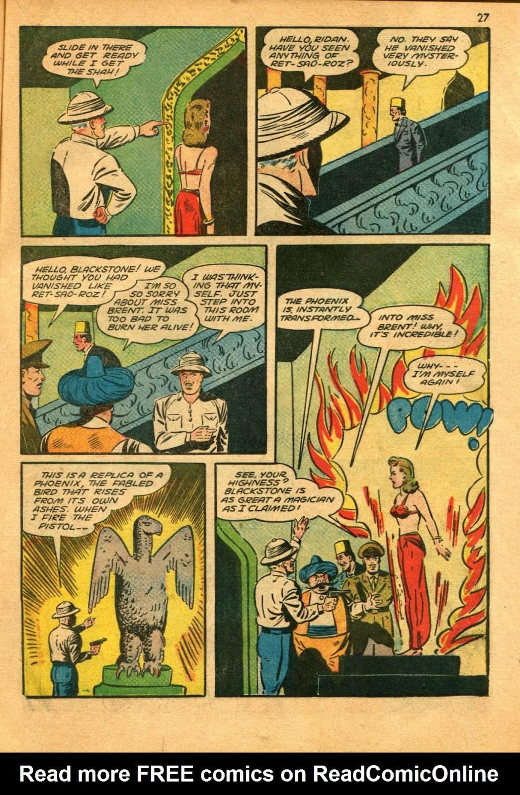 Read online Super-Magician Comics comic -  Issue #11 - 27