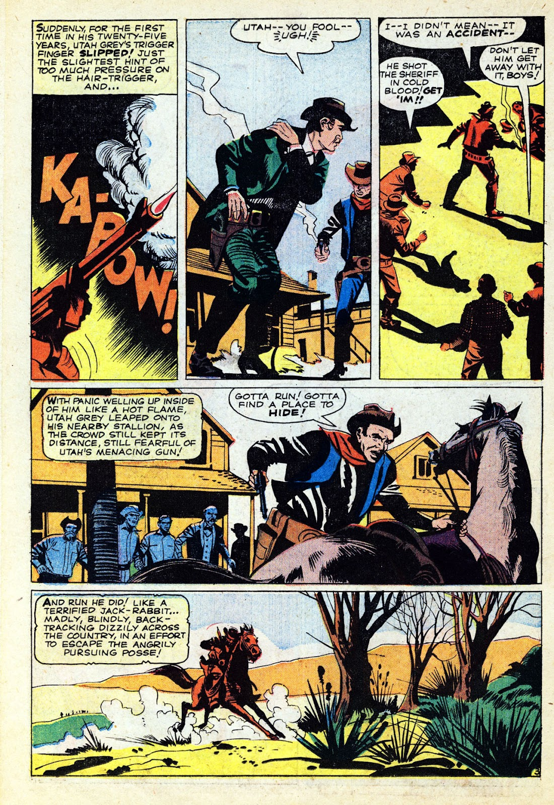 Gunsmoke Western issue 65 - Page 22