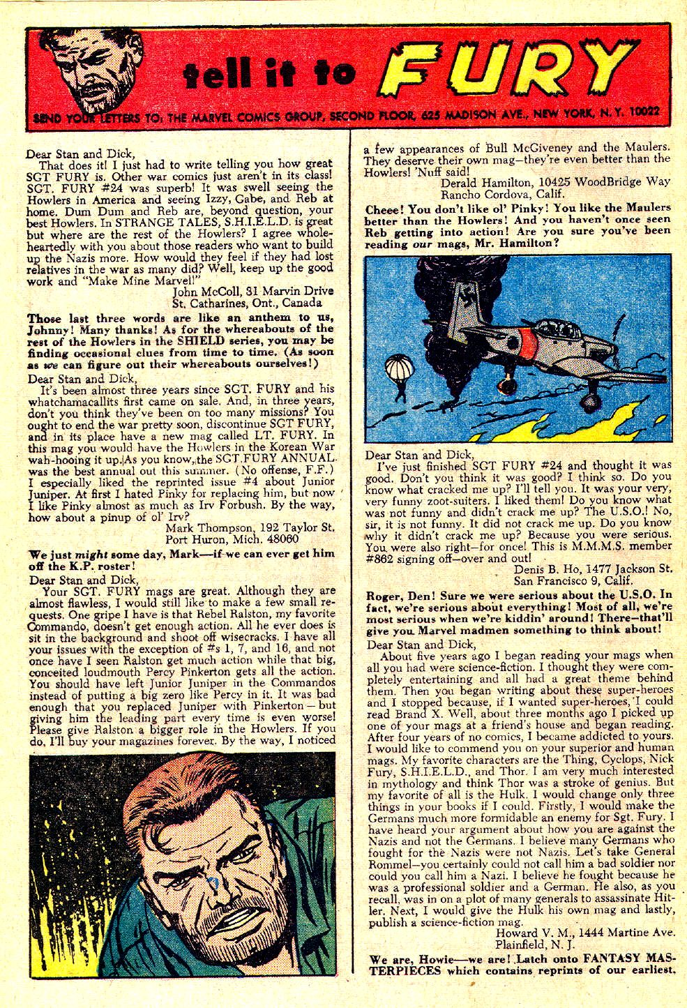 Read online Sgt. Fury comic -  Issue #28 - 32