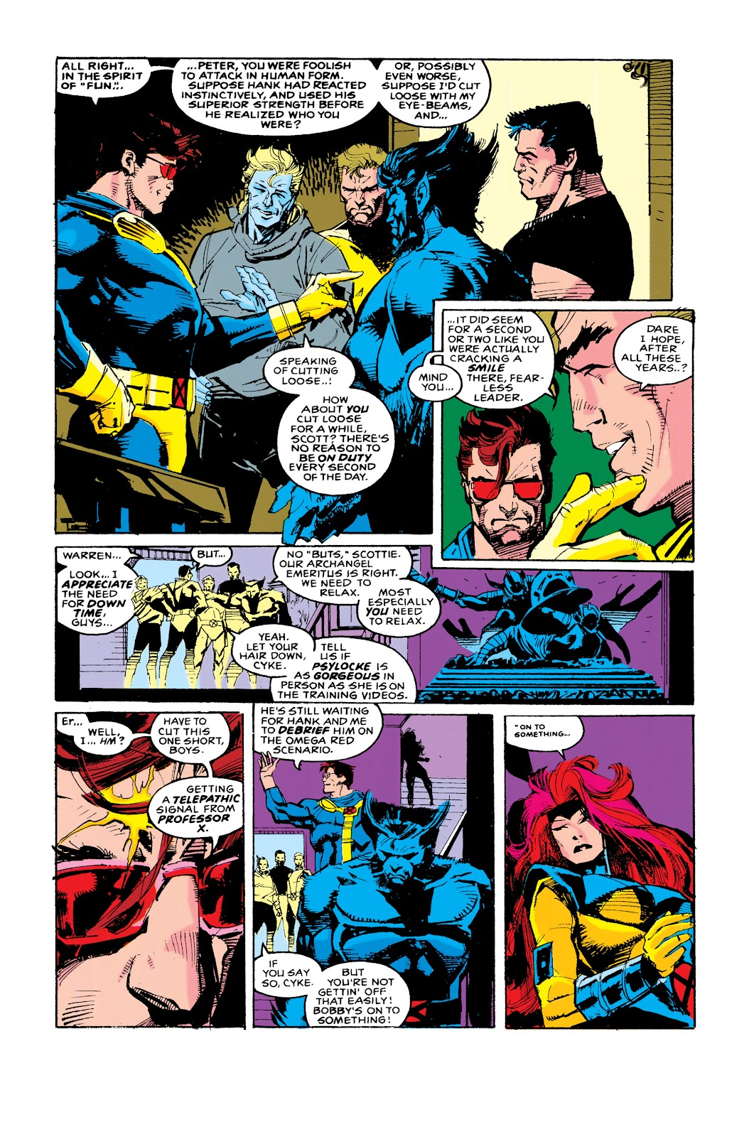 Uncanny X-Men (1963) issue 288 - Page 4