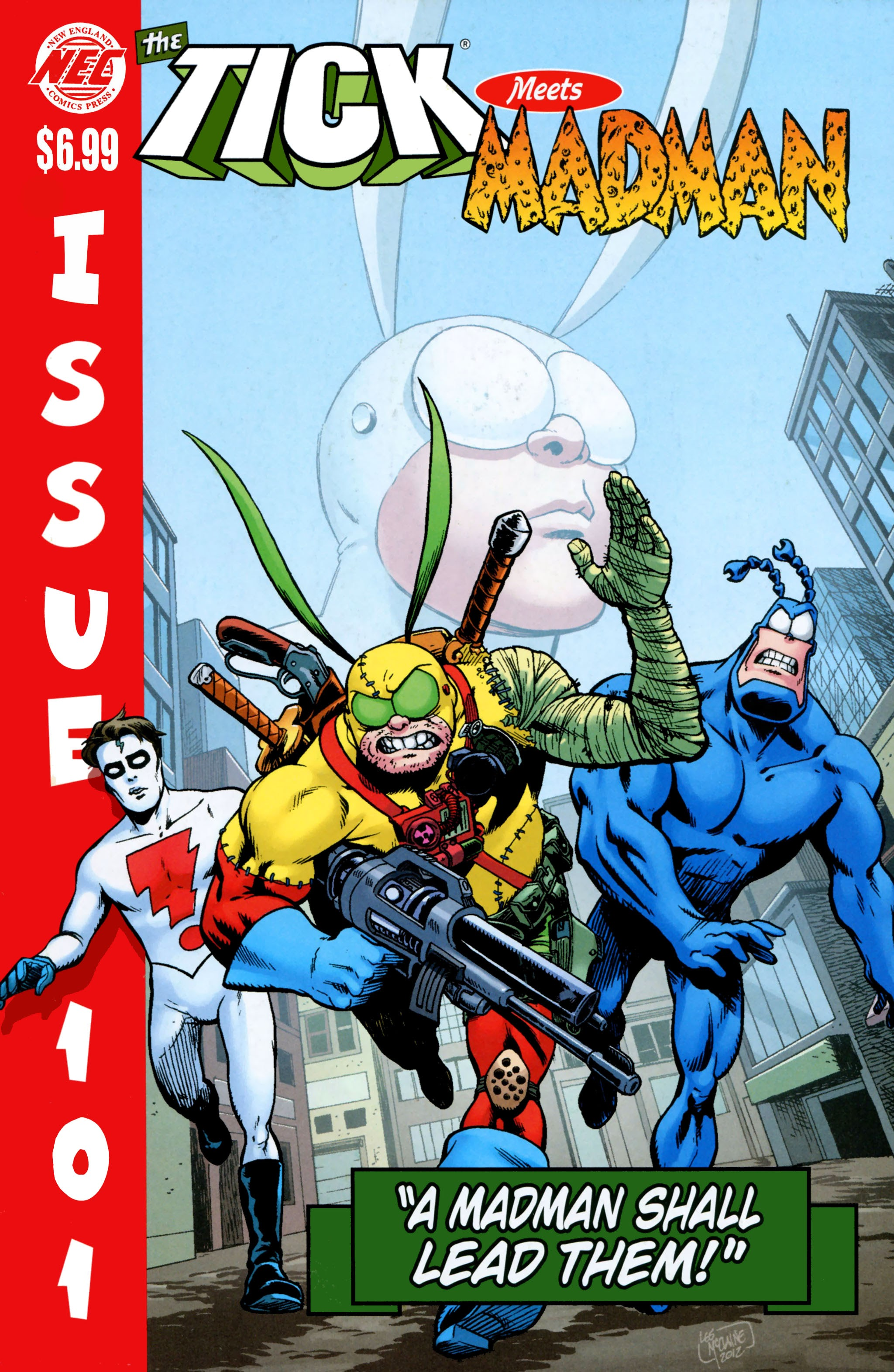 The Tick 101 Page 1