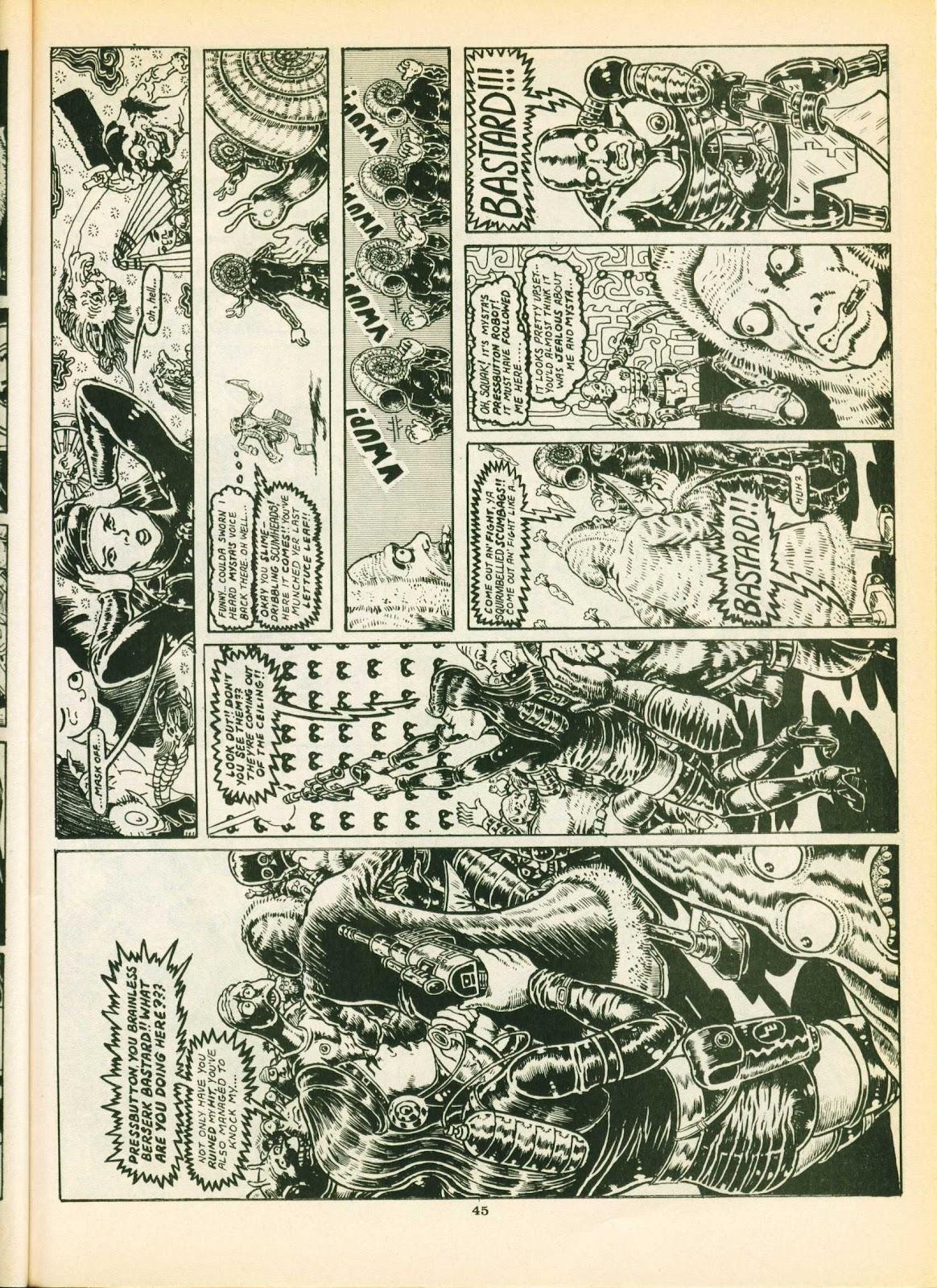 Warrior Issue #16 #17 - English 45
