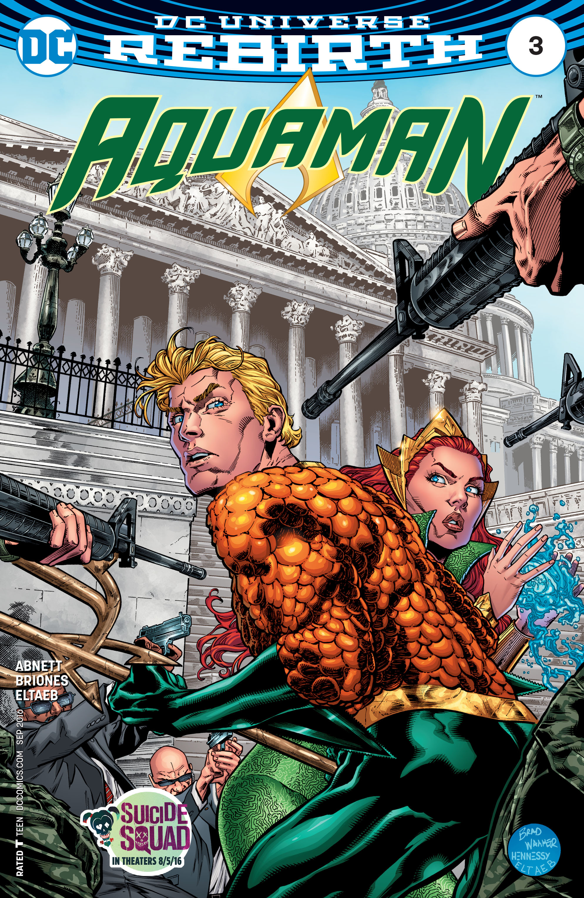 Read online Aquaman (2016) comic -  Issue #3 - 1