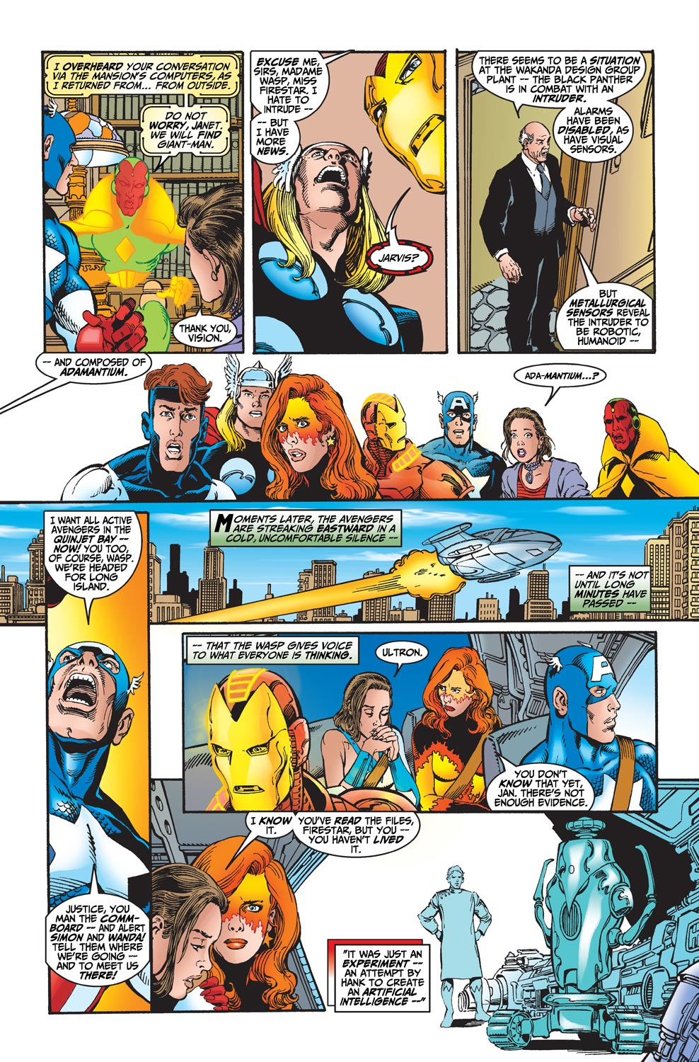 Read online Avengers (1998) comic -  Issue #19 - 12