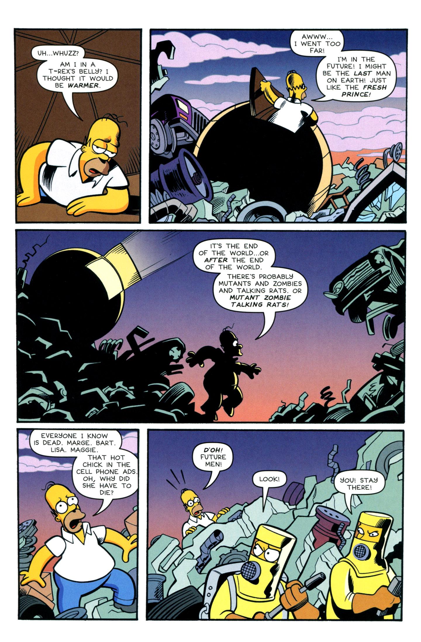 Read online Simpsons Comics comic -  Issue #195 - 22