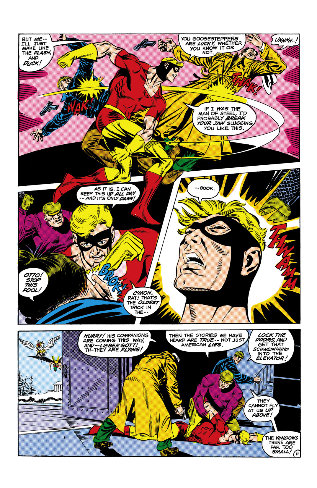Read online All-Star Squadron comic -  Issue #10 - 12