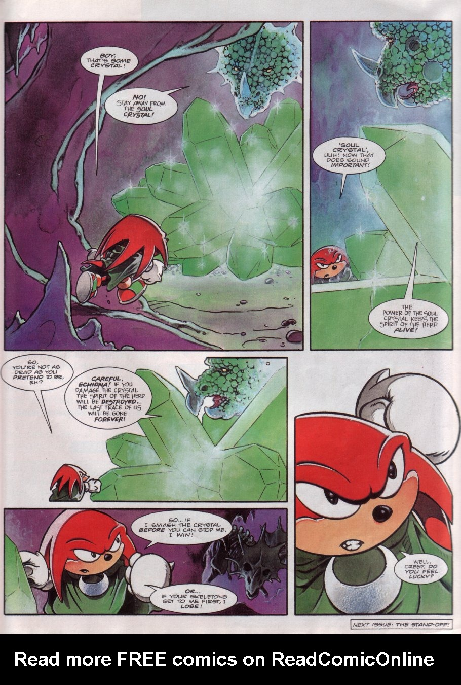 Read online Sonic the Comic comic -  Issue #71 - 21