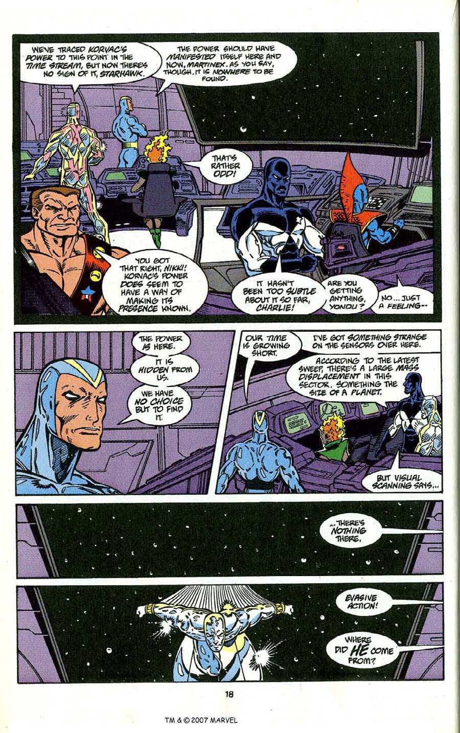 Read online Silver Surfer (1987) comic -  Issue # _Annual 4 - 20