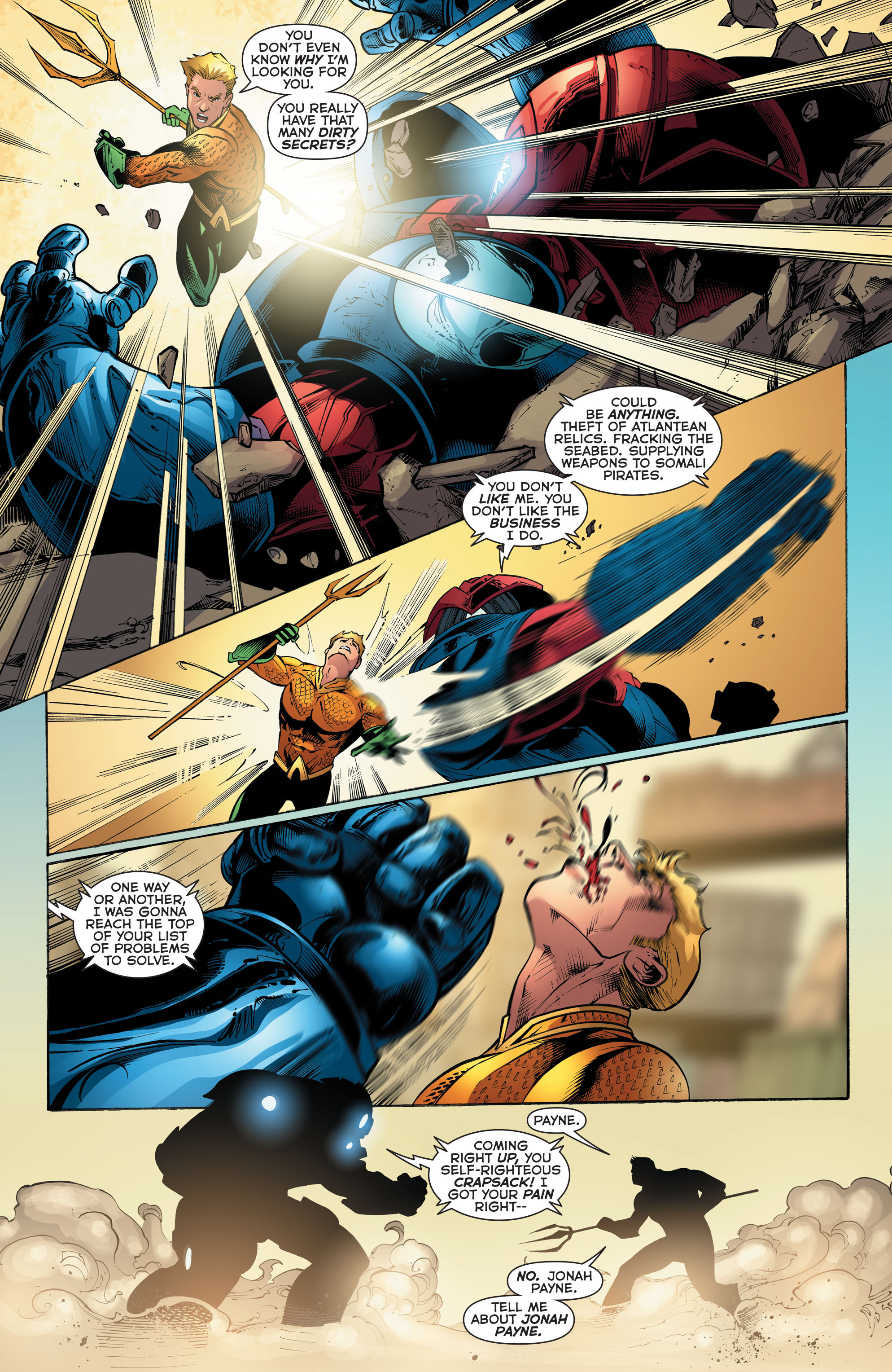 Read online Aquaman (2011) comic -  Issue #52 - 6