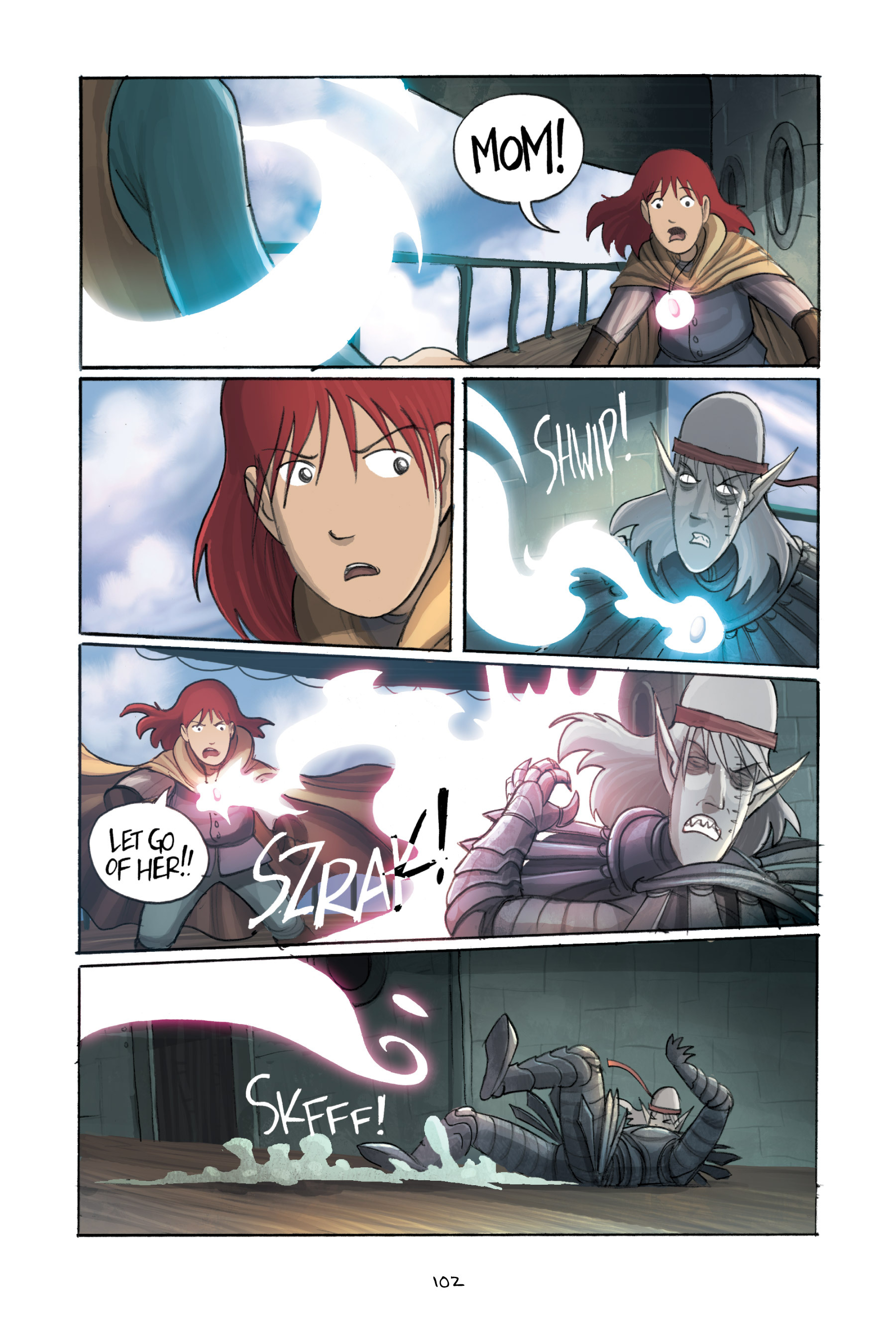 Read online Amulet comic -  Issue #3 - 100