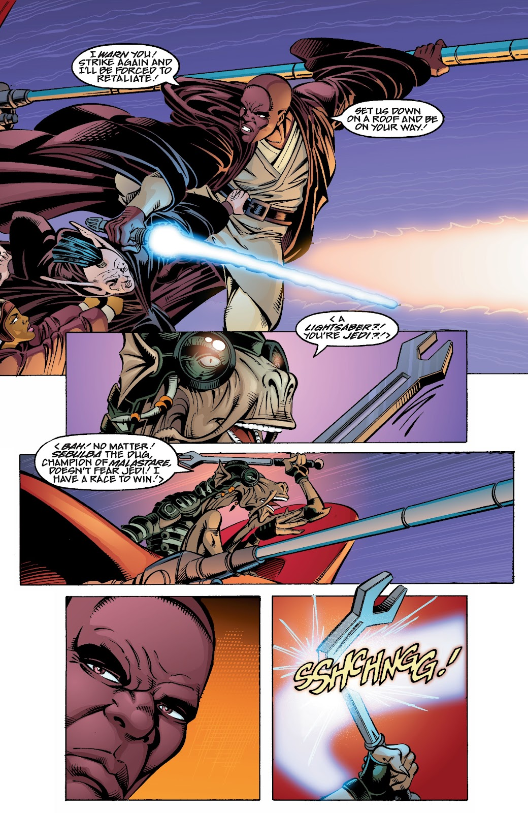 Read online Star Wars Legends Epic Collection: The Menace Revealed comic -  Issue # TPB (Part 4) - 19
