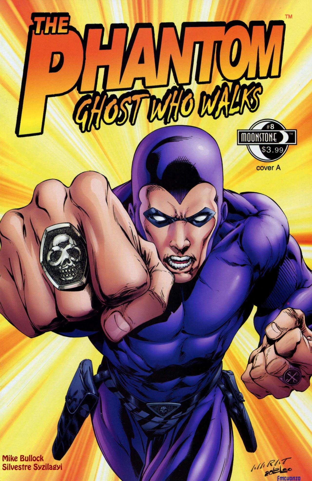 The Phantom: Ghost Who Walks (2009) 8 Page 1