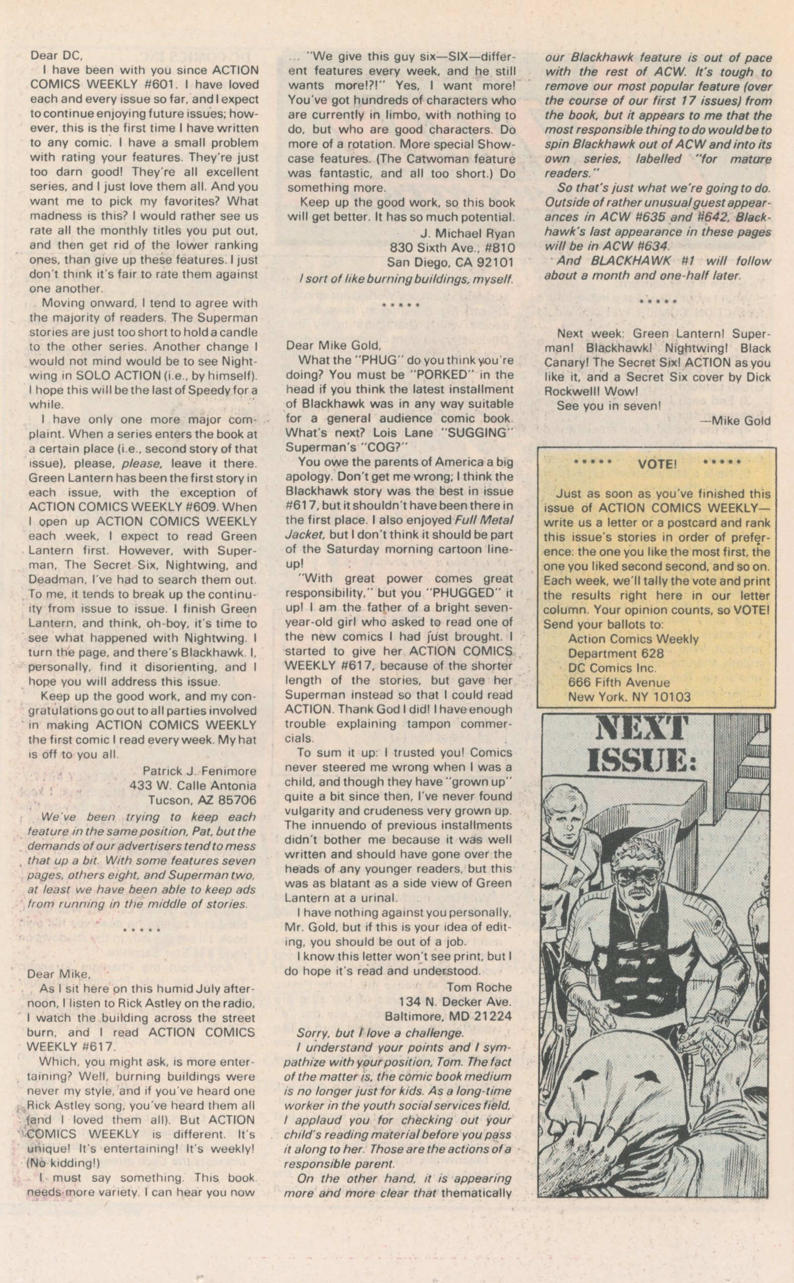Read online Action Comics (1938) comic -  Issue #628 - 41