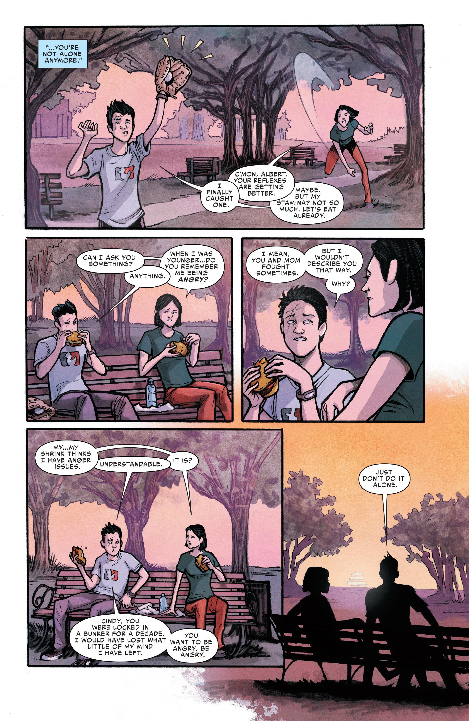 Read online Silk (2016) comic -  Issue #11 - 15