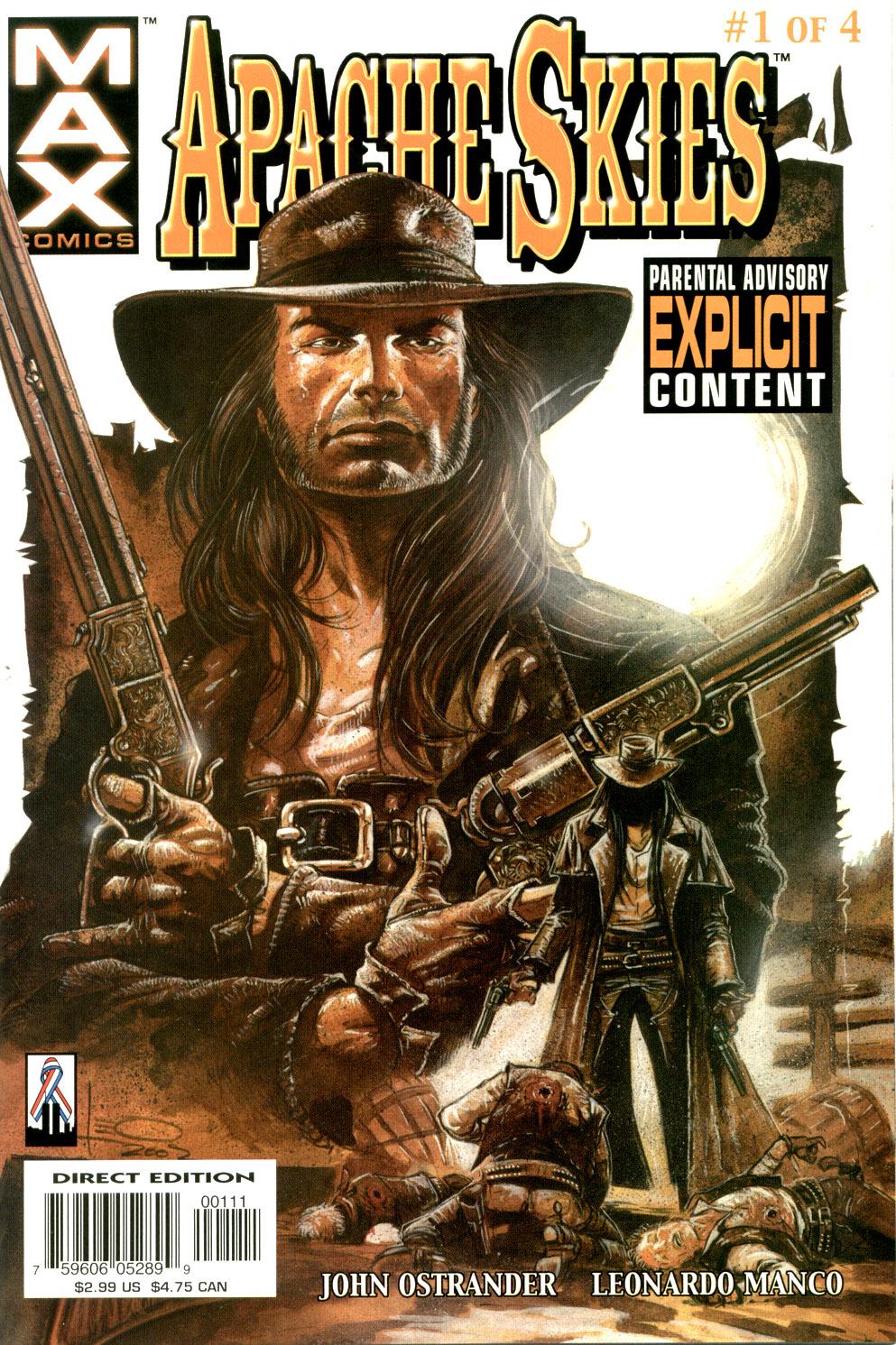 Read online Apache Skies comic -  Issue #1 - 1