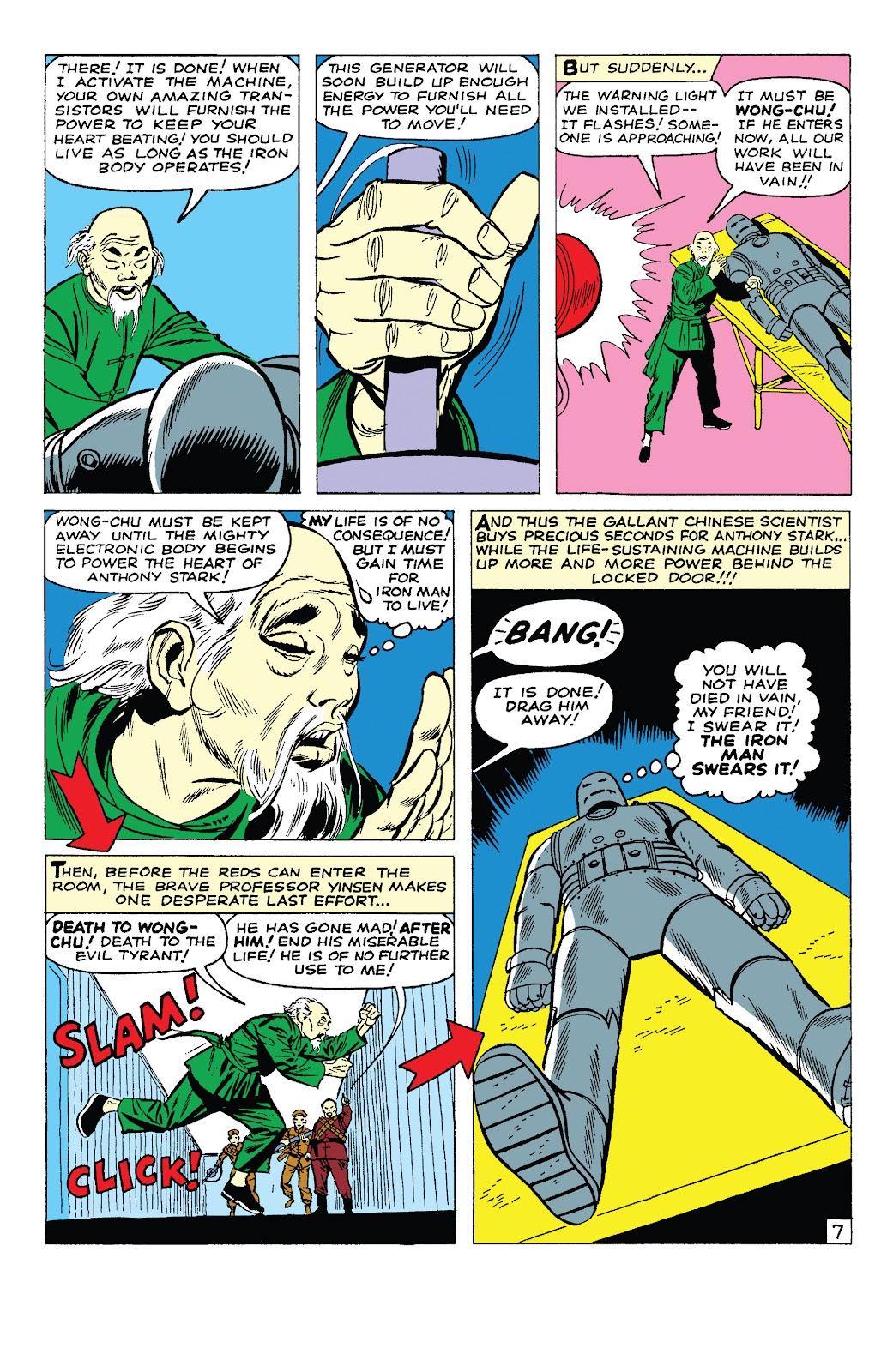 Read online Marvel Tales: Iron Man comic -  Issue # Full - 12