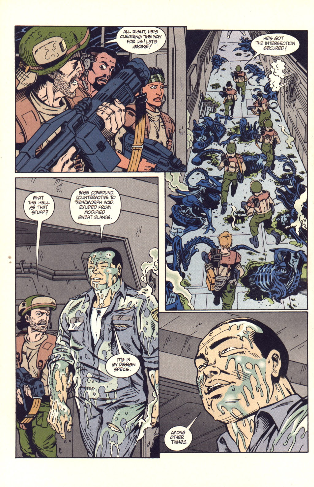 Read online Aliens: Colonial Marines comic -  Issue #9 - 9