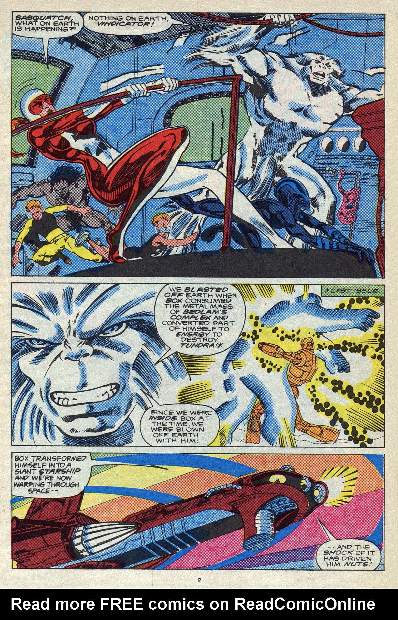 Read online Alpha Flight (1983) comic -  Issue #56 - 4