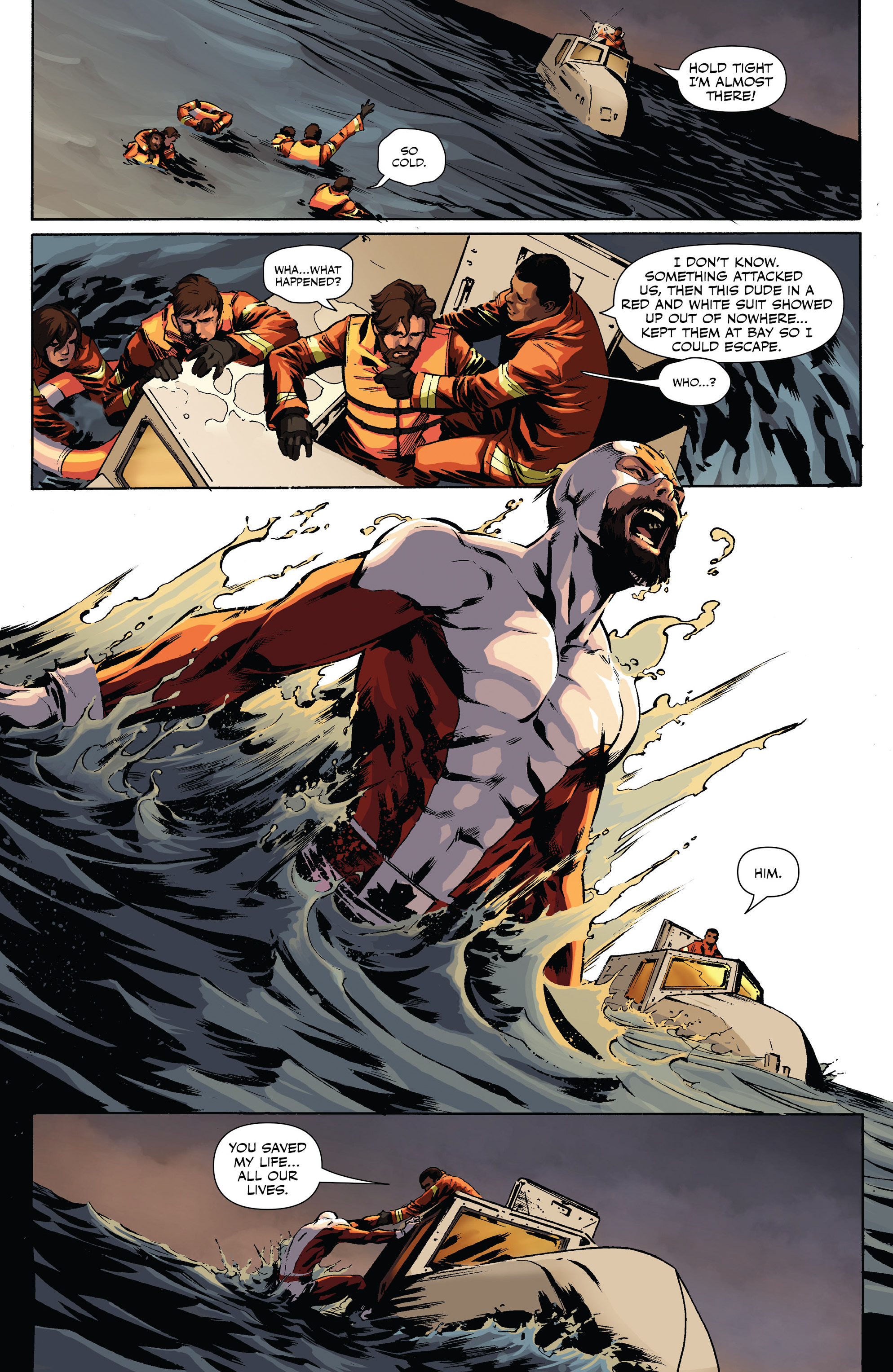 Read online All-New Classic Captain Canuck comic -  Issue #0 - 21