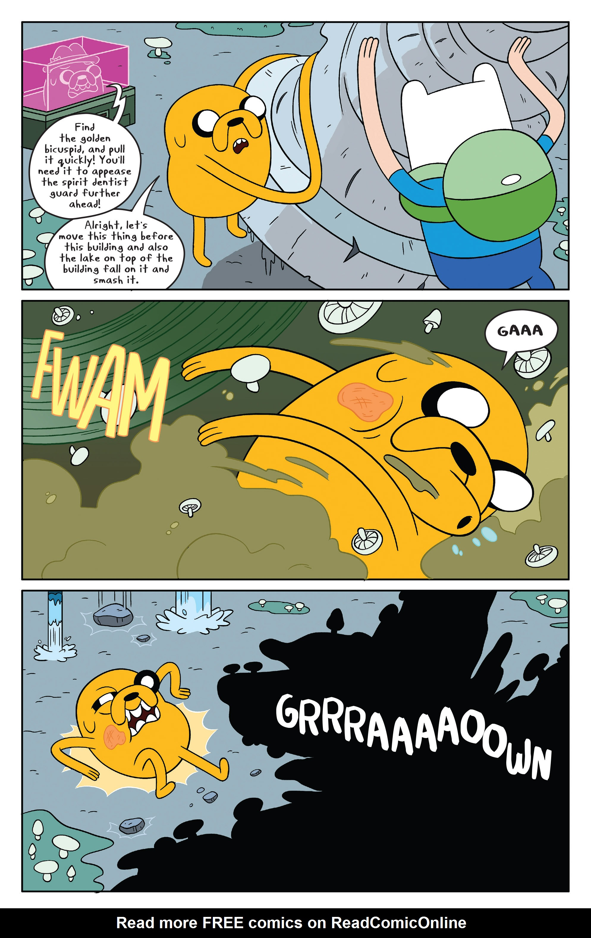 Read online Adventure Time comic -  Issue #46 - 7